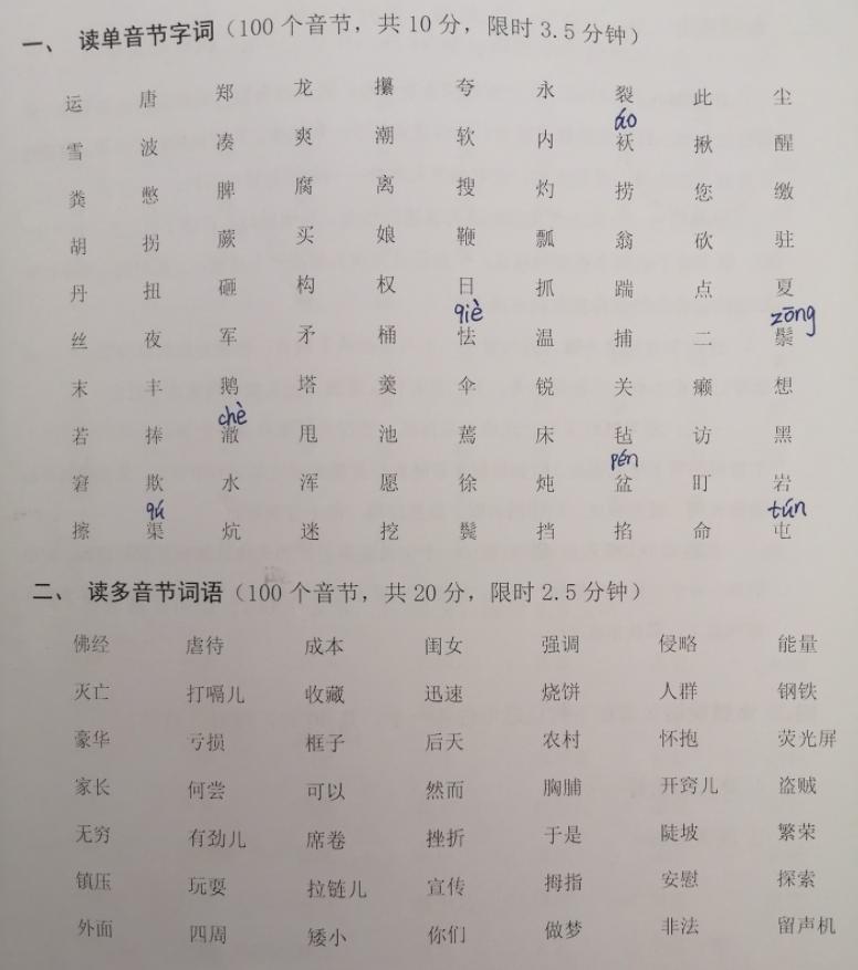 普通话水平考试是如何进行的?普通话考试内容有哪些-技能提升网